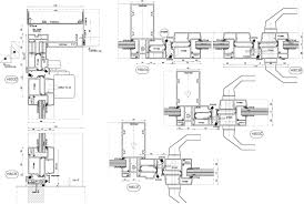 Schuco Curtain Wall Systems Samples Curtain Wall Facade Detailing Cad Shop Drawings