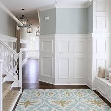 Spell Wainscoting I Love This Paint Color Beautiful Entryway Wainscoting