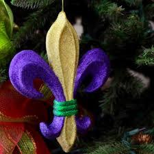 10 pgg glitter fleur de lis ornament mz175252 mardigrasoutlet