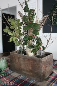rustic christmas table centerpiece centerpieces holidays and