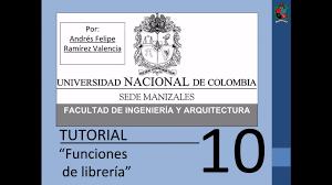 tutorial 10 de matlab en español funciones de librería youtube