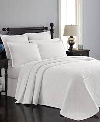 Macy S Bed And Bath Martha Stewart Collection Castle Matelassé Bedspreads And Shams