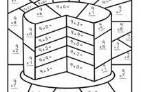 Multiplication Color By Number Education Com Multiplication Coloring Page
