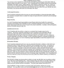 privacy contract template 28 images hunt computing privacy