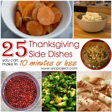 25 and easy thanksgiving side dishes you can make in 10