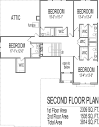 house drawings 5 bedroom 2 story house floor plans with basement