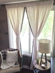 Curtains With Pom Poms Decor String Curtain Panels String Curtains