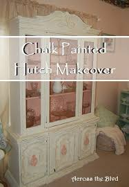 china hutch makeover across the boulevard