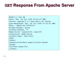 apache etag web services topics http serving static content ppt