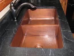 Kitchen Sink Copper Hammered Copper Farmhouse Sink Farmhouse Design And Furniture