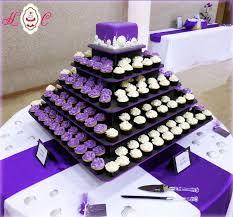 Cupcake Wedding Cake Best 25 Purple Wedding Cupcakes Ideas On Pinterest Purple
