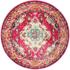 Round Pink Rug For Nursery Zoom Large Round Pink Rug Round Pink Bath Rug Round Pink Area