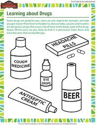 learning about drugs u2013 grade 3 science printables free u2013 of