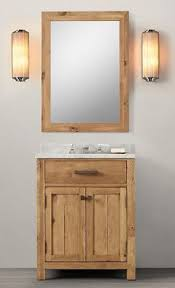 Wooden Bathroom Furniture Astonishing Wnut01 27 Wooden Bathroom Vanity In Light Walnut Color
