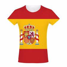 Picture Of Spain Flag Spain Flag Spanish Patriotic Colours Sport Summer Unisex