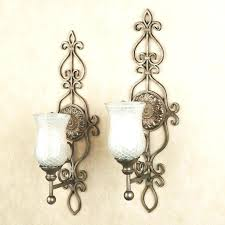 Gold Wall Sconce Candle Holder Sconces Candles For Walls Image Of Mini Wall Sconces Candle Holder