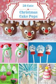 28 cute christmas cake pops ideas christmas baking ideas