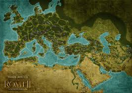 Map Rome Trade Routes Twr2 Total War Wiki