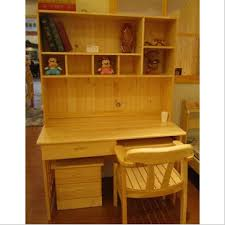 Solid Wood Computer Desk New Simple Study Table Solid Wood Computer Desk With Bookcase Desk
