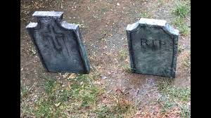halloween headstones how to make your own halloween tombstone youtube