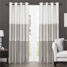Red White Striped Curtains White And Navy Curtains Tags Grey And White Striped Curtains