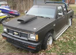 1985 chevrolet s10 extended cab pickup truck item c5265