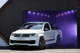 volkswagen purple volkswagen amarok power pickup unveiled photos 1 of 6