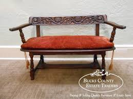 Church Pew Style Bench Bench Carved Benches Antique French Gothic Church Pew Bench