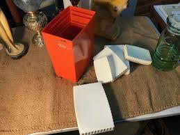 retro vintage australian 1960 u0027s capri burnt orange plastic kitchen