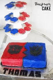 transformer cake transformer cake and party s crafty