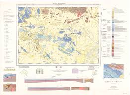 Montana Topographic Map by Australian Maps