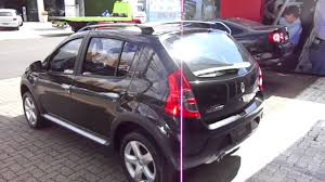 renault sandero stepway black renault sandero stepway 1 6 16v flex 2011 youtube