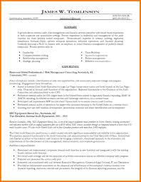 Resume Sample Vice President by 7 Internal Resume Examples Park Attendant