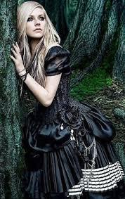 avril lavigne black wedding dress i this of avril lavinge from single i d
