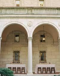 wedding arch kent a classic boston library wedding martha stewart weddings