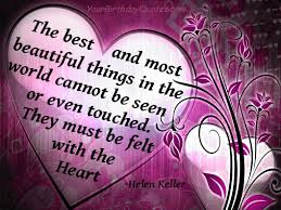 quotes about love heart valentines day helen keller