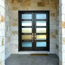 Frosted Glass Exterior Doors Frosted Glass Front Door Modern Glass Front Doors Modern Frosted