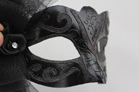 black masquerade masks for men simulation of venice masquerade mask white and black men and women
