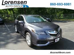 new 2018 acura rdx awd with technology package suv in canton