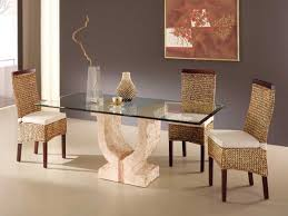 Dining Room Stone Base Dining Table On Dining Room Pedestal - Stone kitchen table