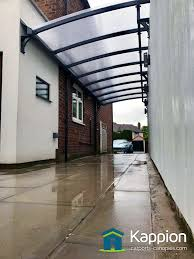 attached carport wall attached carport installed in liverpool kappion carports