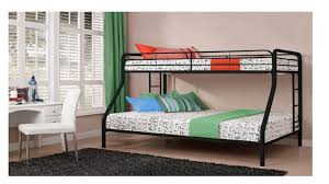 Twin And Full Bunk Beds by Dorel Twin Over Full Bunk Bed Black Youtube