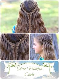 scissor waterfall combo latest hairstyles cute girls hairstyles
