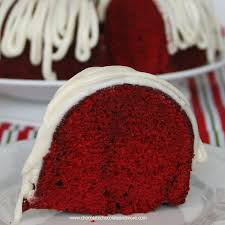 red velvet bundt cake your homebased mom