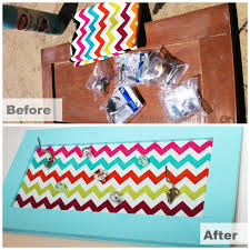 mama in the city diy accessory holder cabinet door makeover