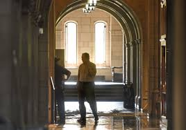 pipe failure triggered sprinkler that flooded cathedral of