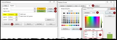 excel color commander