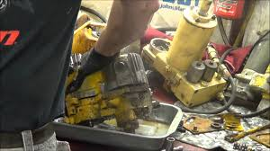5 22 13 cub cadet 129 hydrostatic pump repair assessment youtube
