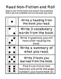 printable question dice freebie roll a question activity for reading comprehension tpt