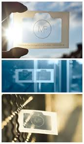 16 best white print on clear plastic business cards images on